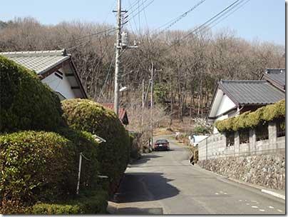 日和田山登り口