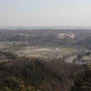 日和田山より巾着田