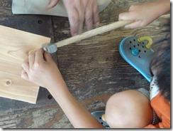 木工かなづちに挑戦