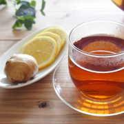 インフルエンザを殺菌する生姜紅茶