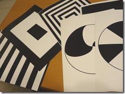 白黒フラッシュカード