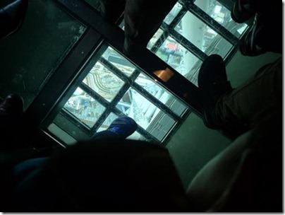 東京スカイツリーガラス床