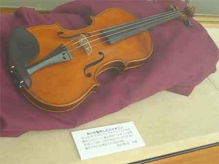 糸川博士のバイオリン