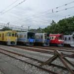 西武鉄道「電車夏まつり2014」南入曽車両基地
